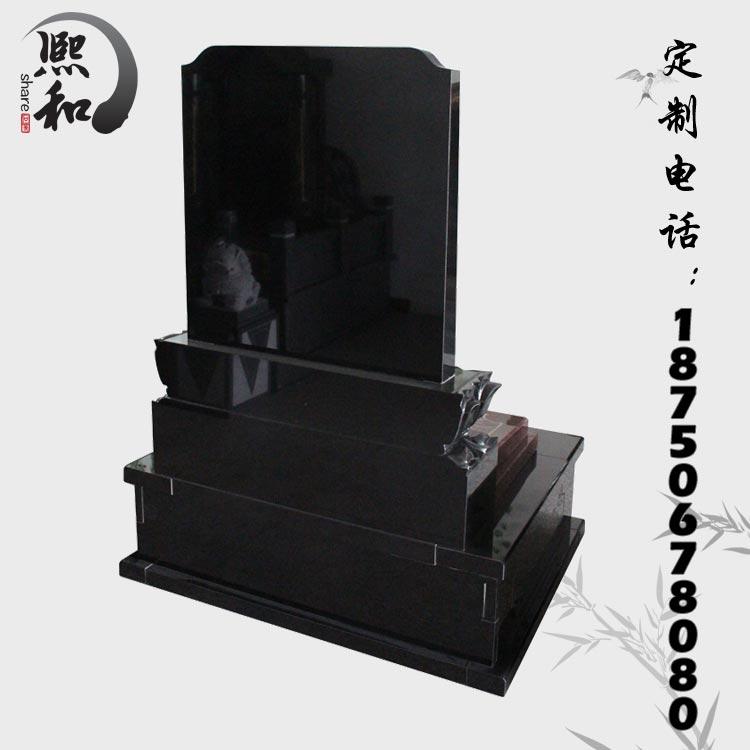 山东花岗岩石碑,墓碑石批发,中国黑大理石墓碑