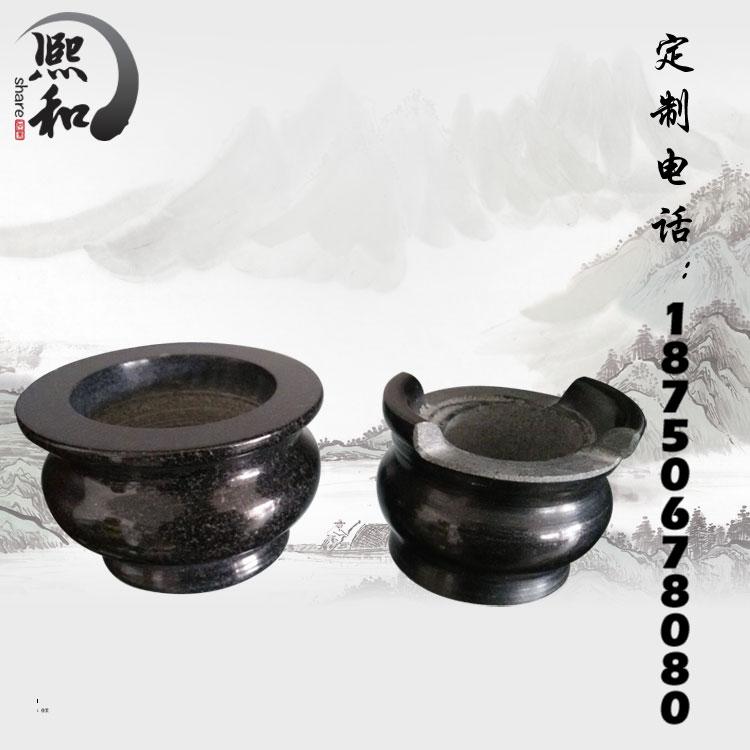 香炉,山西黑香炉,圆形香炉
