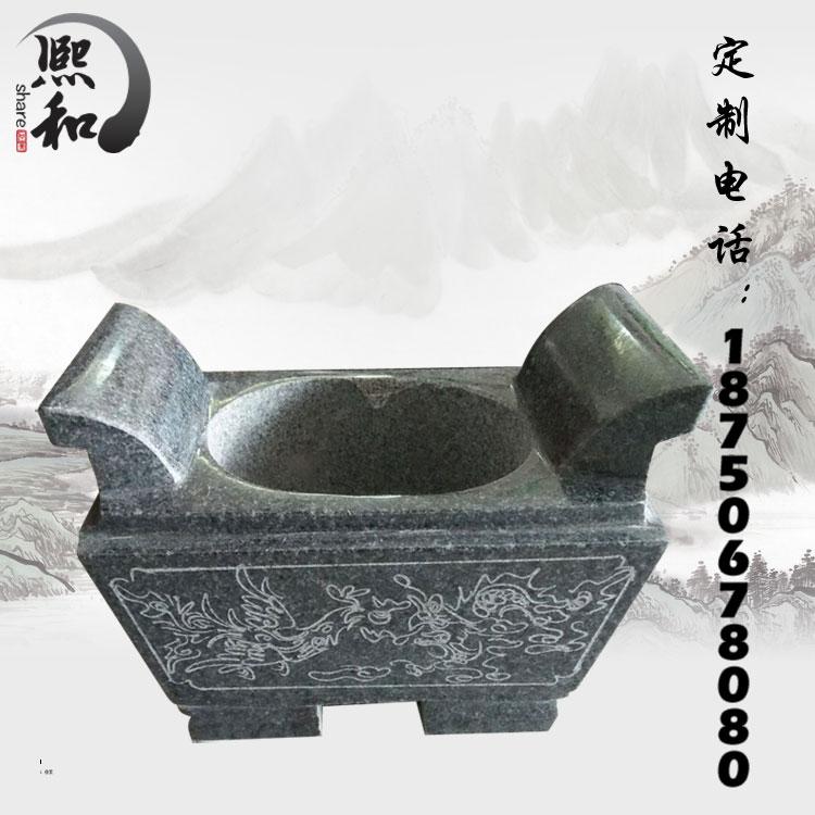 香炉,方形香炉,石雕香炉