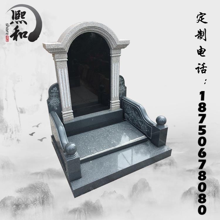 福建惠安墓碑,墓碑花瓶,石雕墓碑汉白玉