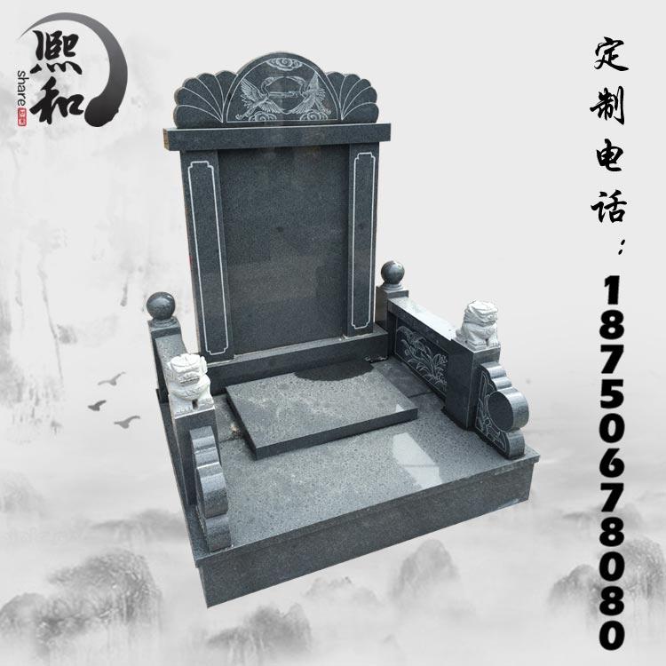 石雕墓碑加工厂,福建石碑雕刻厂,父母墓碑