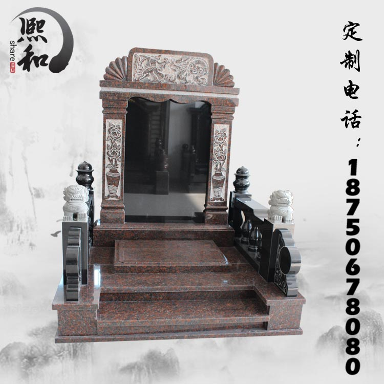 墓碑雕石碑,墓碑石碑,中国黑墓碑