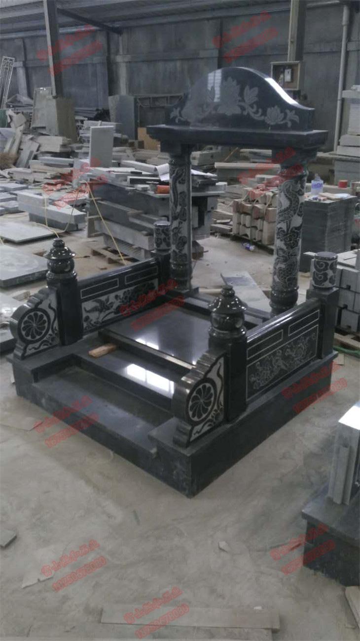 家族墓碑,陵园墓碑,中式墓碑