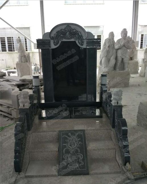 山西黑家族墓碑,陵园墓碑