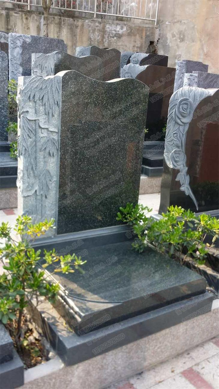 花岗岩墓碑,陵园墓碑