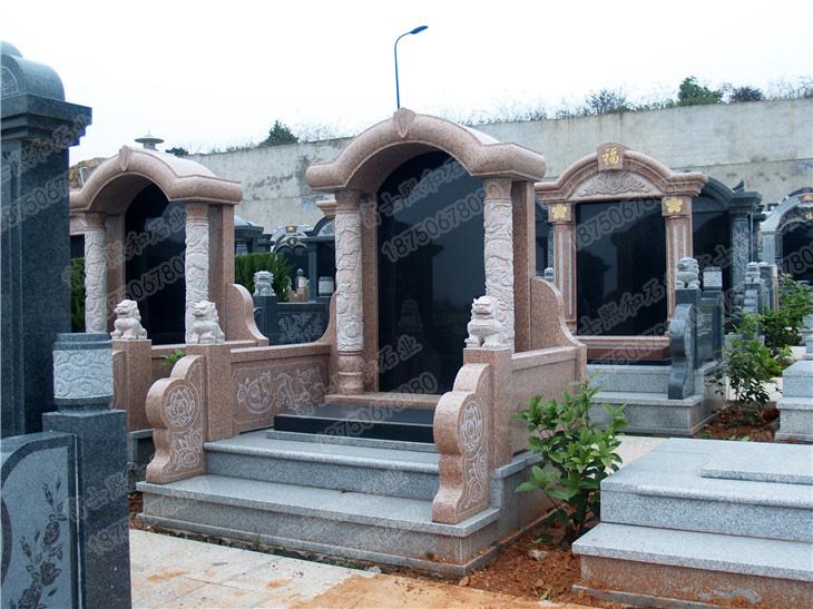 花岗岩墓碑,中式墓碑
