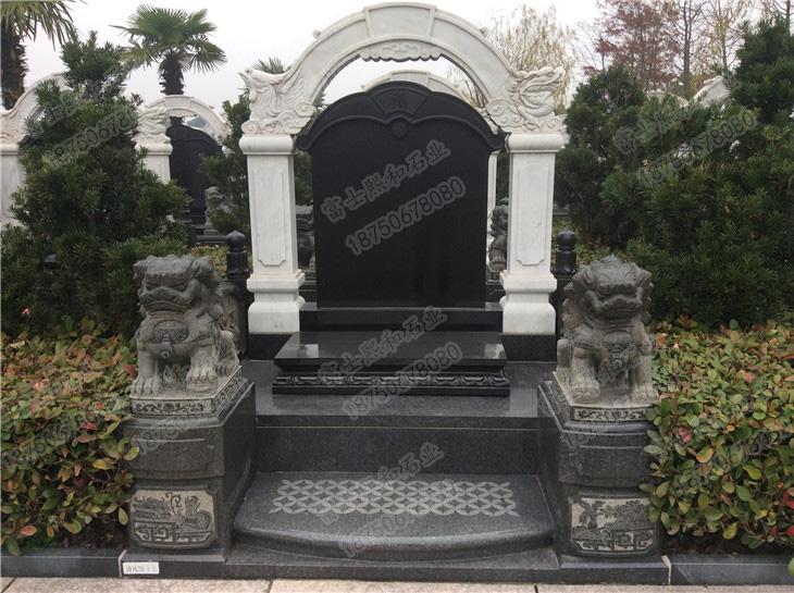 中式墓碑,传统墓碑