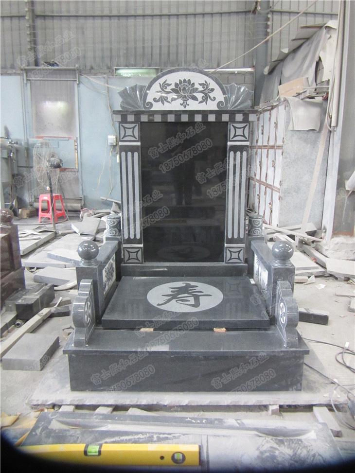 山西黑墓碑,花岗岩墓碑