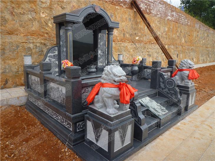 家族墓碑,山西黑墓碑