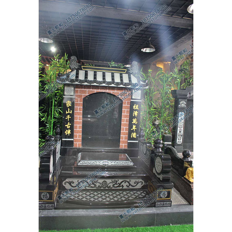 曲靖陆良家族墓碑