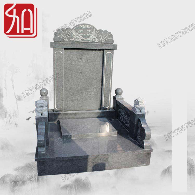 云南昭通陵园火葬墓碑