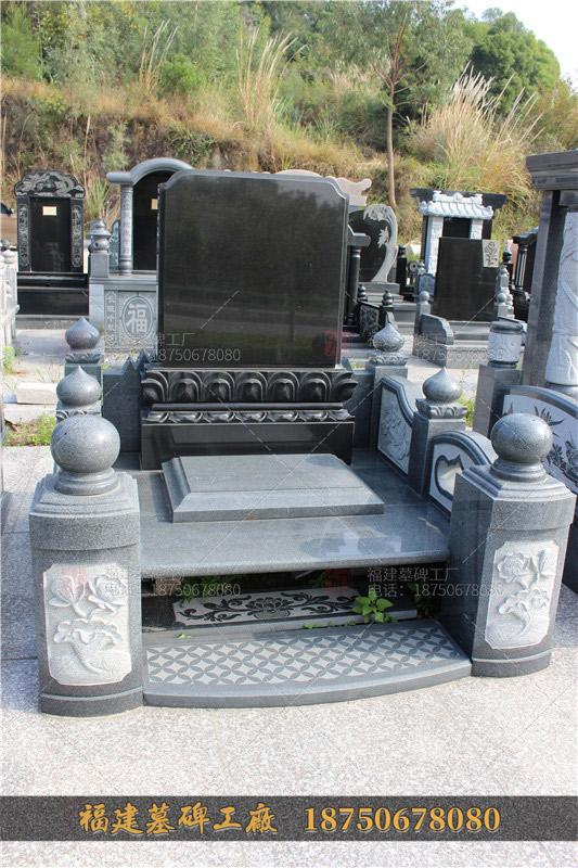 传统山西黑墓碑,艺术墓碑,印度红山西黑墓碑