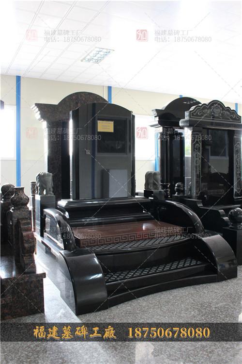 花岗岩石雕墓碑设计,新平彝族傣族自治县墓碑设计,新平彝族傣族自治县黑色墓碑款式,