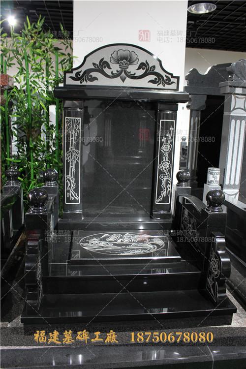 福建山西黑石雕墓碑现货,山西黑传统墓碑批发,福建山西黑石雕墓碑加工,