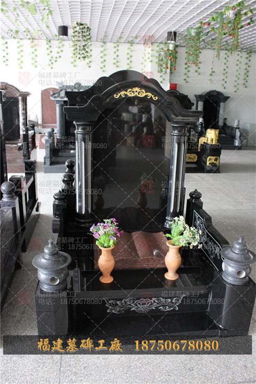 山西黑豪华石雕墓碑现货,山西黑传统石雕墓碑加工,山西黑石雕墓碑定制,