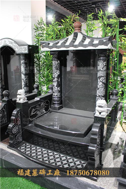 中式石雕墓碑现货,传统石雕墓碑定制,墓碑石雕精雕图,