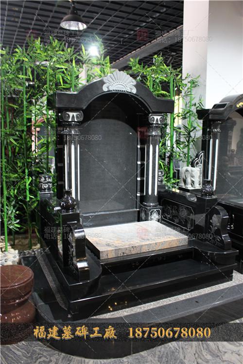 山西黑墓碑批发定做,传统墓碑批发,陵园墓碑加工定制,