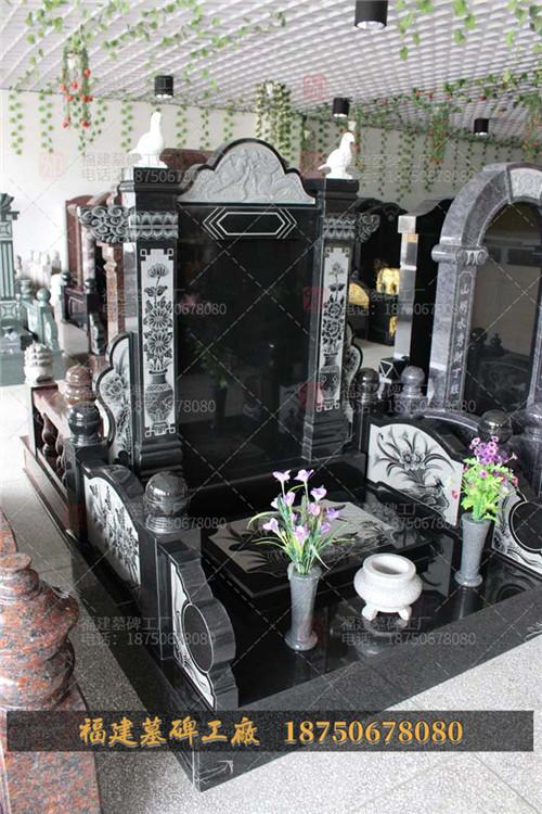 中式传统墓碑加工价格,传统石雕墓碑价格表,农村墓碑价格,