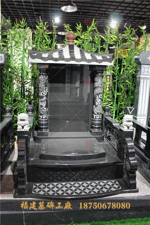 山西黑石雕墓碑定制,中式传统墓碑定制,传统山西黑墓碑定做,